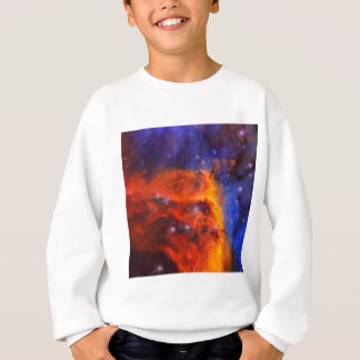 Abstract Galactic Nebula with cosmic cloud 5 Sweatshirt