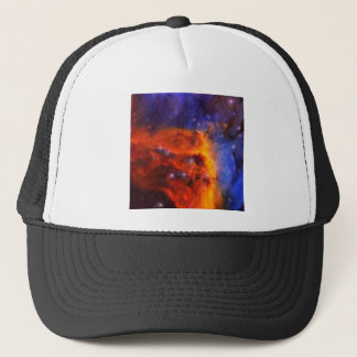 Abstract Galactic Nebula with cosmic cloud 5 Trucker Hat