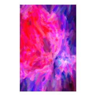 Abstract Galactic Nebula with cosmic cloud 6   24x Stationery