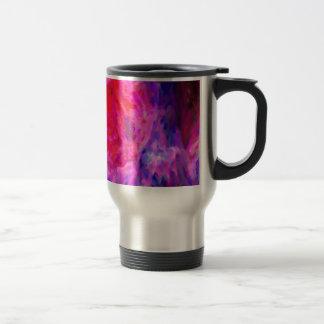 Abstract Galactic Nebula with cosmic cloud 6   24x Travel Mug