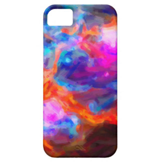 Abstract Galactic Nebula with cosmic cloud 7   24x iPhone 5 Case