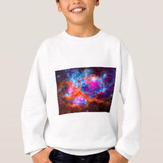 Abstract Galactic Nebula with cosmic cloud 7   24x Sweatshirt