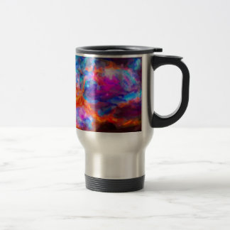 Abstract Galactic Nebula with cosmic cloud 7   24x Travel Mug