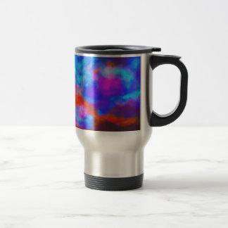 Abstract Galactic Nebula with cosmic cloud 7a   24 Travel Mug
