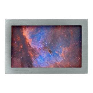 Abstract Galactic Nebula with cosmic cloud Belt Buckle