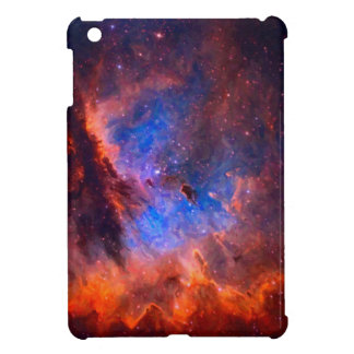 Abstract Galactic Nebula with cosmic cloud Case For The iPad Mini