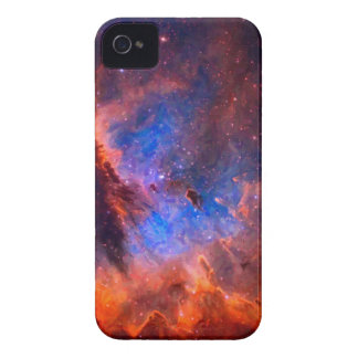 Abstract Galactic Nebula with cosmic cloud iPhone 4 Case-Mate Cases