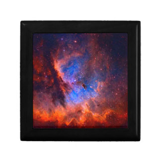 Abstract Galactic Nebula with cosmic cloud Jewelry Boxes