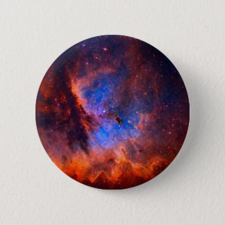 Abstract Galactic Nebula with cosmic cloud - sml.j 2 Inch Round Button