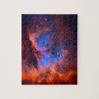 Abstract Galactic Nebula with cosmic cloud - sml.j Jigsaw Puzzle
