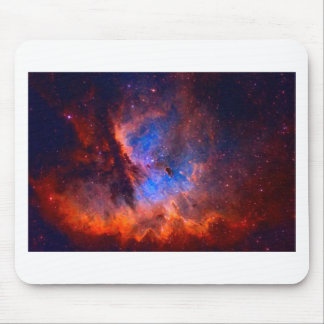 Abstract Galactic Nebula with cosmic cloud - sml.j Mouse Pad