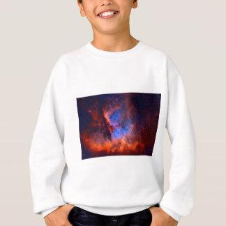 Abstract Galactic Nebula with cosmic cloud Sweatshirt