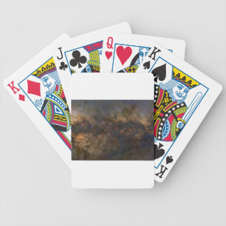 Abstract Galaxy with cosmic cloud 2 sml Bicycle Playing Cards