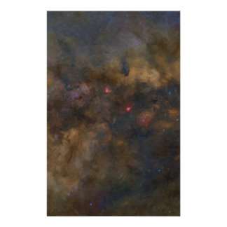 Abstract Galaxy with cosmic cloud 2 Stationery