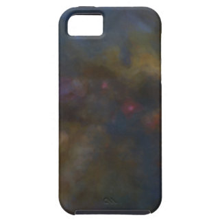 Abstract Galaxy with cosmic cloud iPhone 5 Case