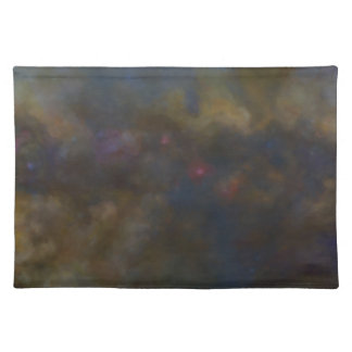 Abstract Galaxy with cosmic cloud Placemat