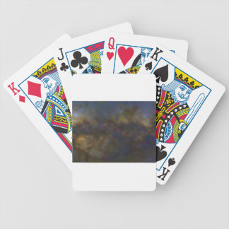 Abstract Galaxy with cosmic cloud sml Bicycle Playing Cards