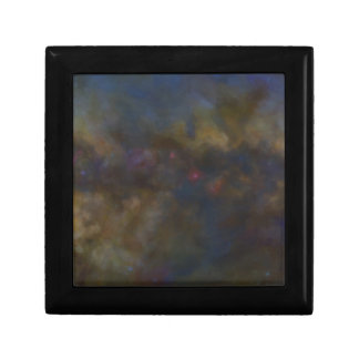Abstract Galaxy with cosmic cloud sml Gift Box