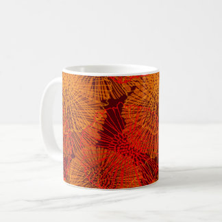 Abstract Garden (Glow) Coffee Mug