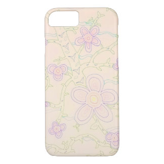 Abstract Garden iPhone 7 Case (Pastel)