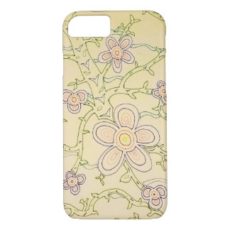 Abstract Garden iPhone 7 Case (Vintage)