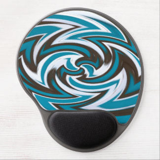 Abstract Gel Mouse Pad