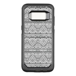 Abstract Geometric Aztec Pattern 2 OtterBox Commuter Samsung Galaxy S8 Case