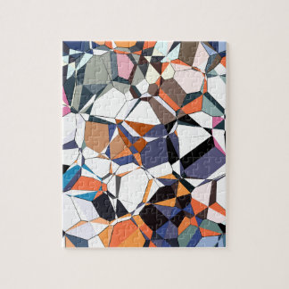 Abstract Geometric Chaos Puzzle