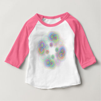 Abstract geometric circles. baby T-Shirt