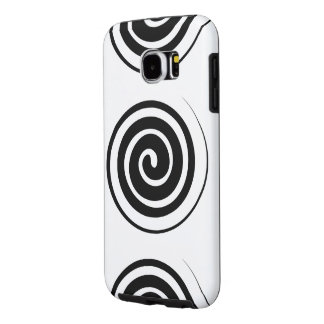 Abstract Geometric Circles Samsung Galaxy S6 Cases