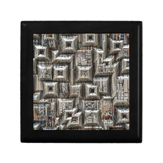Abstract Geometric City Collage Gift Boxes