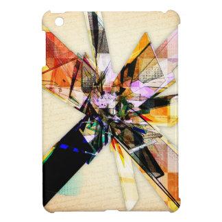 Abstract Geometric Collage iPad Mini Covers