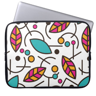 Abstract Geometric Colorful Seamless Pattern Laptop Sleeve