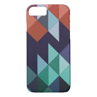 Abstract geometric colourful iPhone 7 case