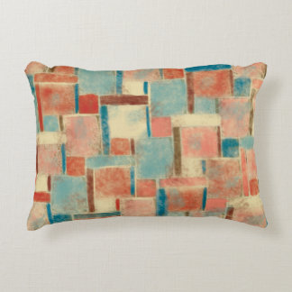 Abstract Geometric Decorative Pillow