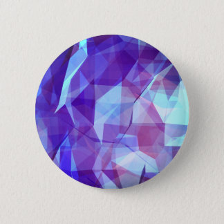 Abstract Geometric Design 2 Inch Round Button