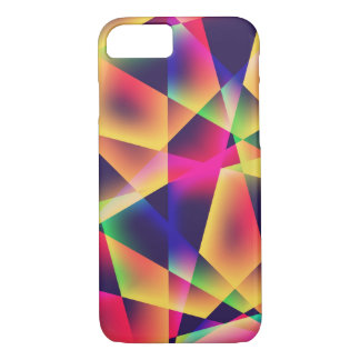 Abstract Geometric Fluorescence iPhone 7 Case