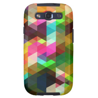 Abstract Geometric Galaxy SIII Cases