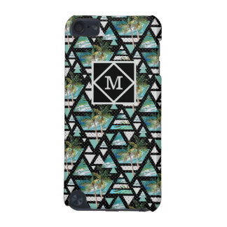 Abstract Geometric Palms & Waves Pattern iPod Touch 5G Covers