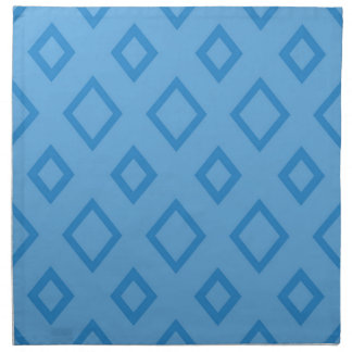 Abstract geometric pattern - blue. napkin