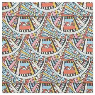Abstract Geometric Pattern fabric