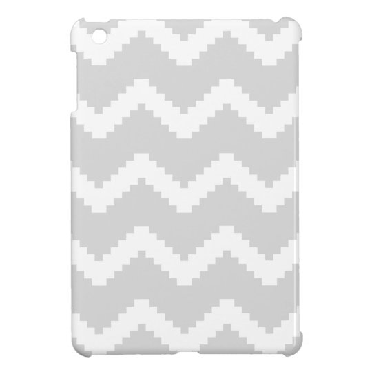 Abstract geometric pattern - grey and white. iPad mini covers