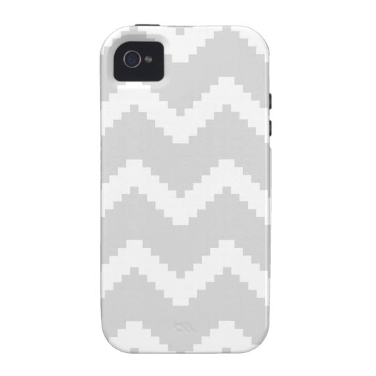 Abstract geometric pattern - grey and white. vibe iPhone 4 cover