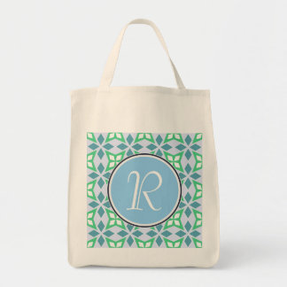 Abstract Geometric pattern Grocery Tote Bag