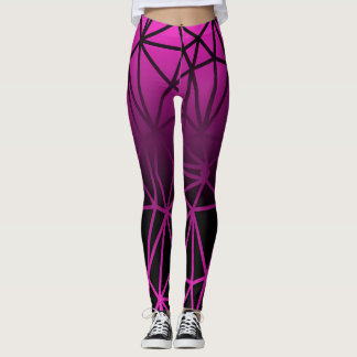 Abstract Geometric Pattern Leggings