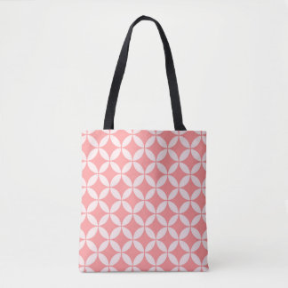 Abstract geometric pattern - pink. tote bag