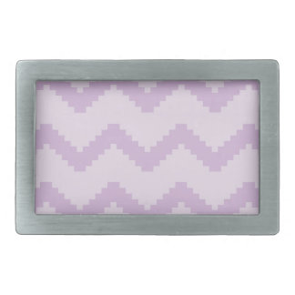 Abstract geometric pattern - purple. belt buckles