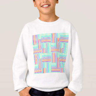 Abstract geometric pattern sweatshirt
