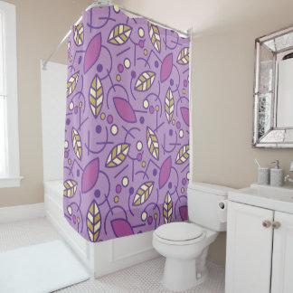 Abstract Geometric Purple Seamless Pattern