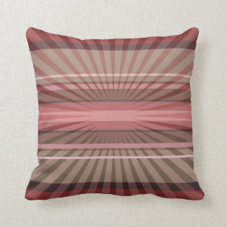 Abstract Geometric Rays and Stripes on a Cushion